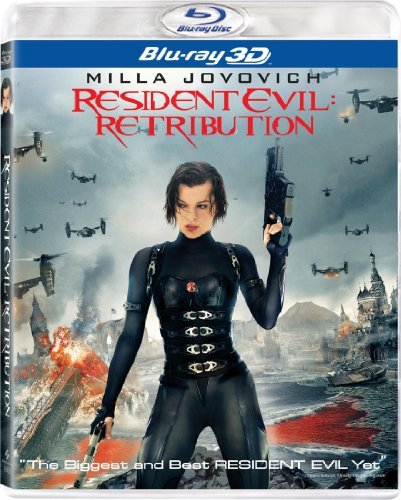 Resident Evil Retribution 3d Resident Evil Retribution 3d Blu Ray Aws R Incl. Uv