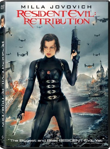 Resident Evil Retribution Jovovich Guillory Rodriguez DVD Dc R