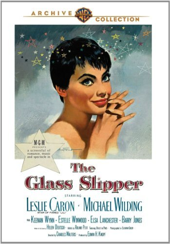 Glass Slipper (1955) Caron Wilding Wynn DVD Mod This Item Is Made On Demand Could Take 2 3 Weeks For Delivery