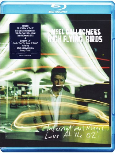 Noel High Flying Bir Gallagher International Magic Live At Th Explicit Blu Ray Nr Incl. CD