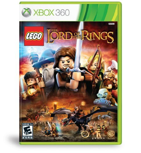Xbox 360 Lego Lord Of The Rings Whv Games E10+