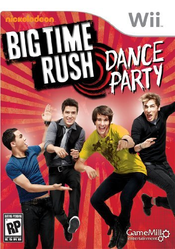 Wii Big Time Rush Dance Party