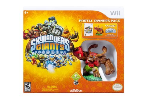 Wii Skylanders Giants Portal Owners Pack Does Not Contain Portal