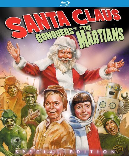 Santa Claus Conquers The Martians Santa Claus Conquers The Martians Blu Ray Ws Special Ed. Nr