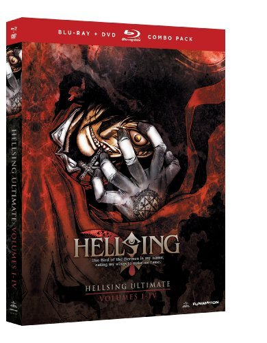 Hellsing Ultimate Vol. 1 4 Box Set Blu Ray Tvma