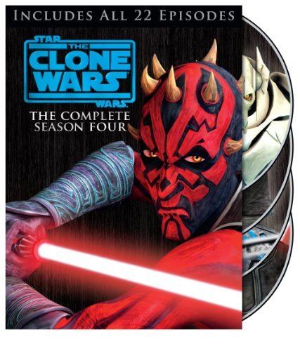 Star Wars Clone Wars Season 4 DVD Nr