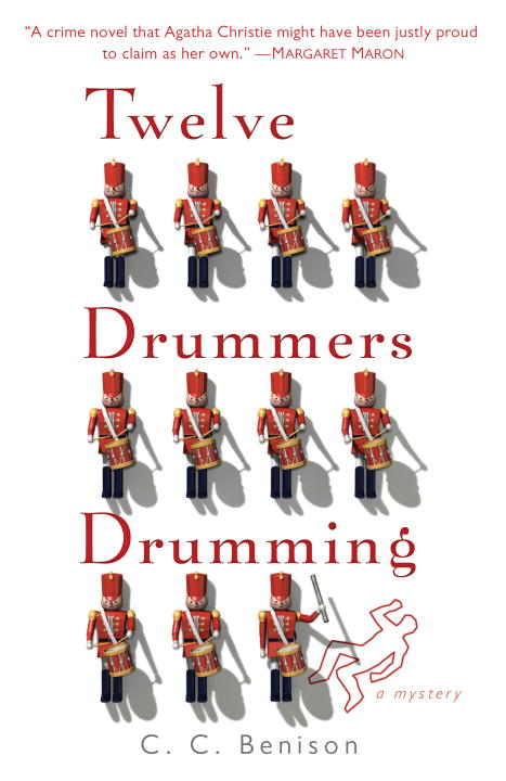 C. C. Benison Twelve Drummers Drumming A Father Christmas Mystery