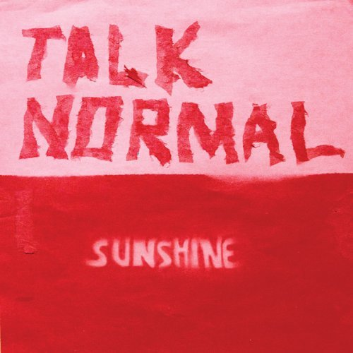 Talk Normal Sunshine Lp Jacket