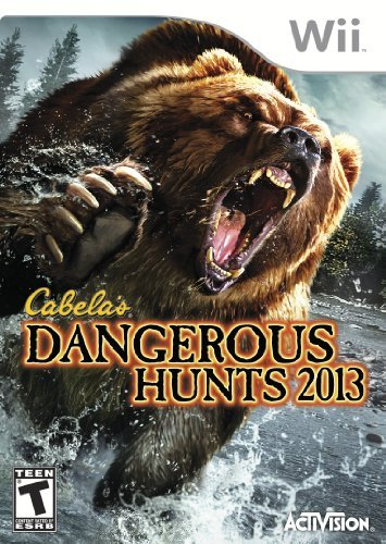 Wii Cabelas 2013 Dangerous Hunts T
