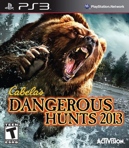 Ps3 Cabelas 2013 Dangerous Hunts Activision Publishing Inc. T