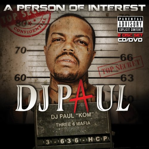 Dj Paul Person Of Interest Explicit Version Incl. DVD