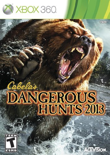 Xbox 360 Cabelas 2013 Dangerous Hunts Activision Publishing Inc. T
