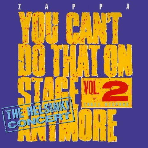 Frank Zappa Vol. 2 You Can't Do That On St 2 CD