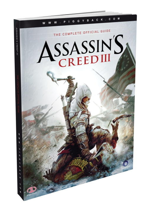 Piggyback Assassin's Creed Iii The Complete Official Guide [with Map]