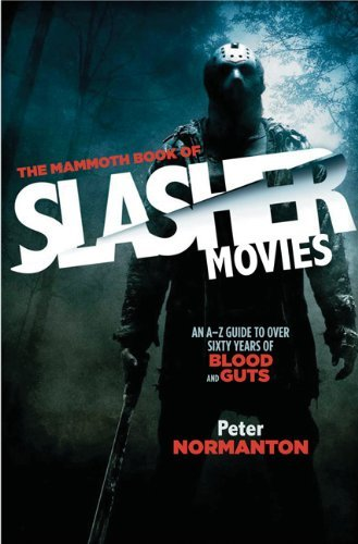 Normanton Peter Mammoth Book Of Slasher Movies The