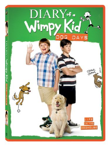 Diary Of A Wimpy Kid Dog Days Gordon Zahn DVD Pg