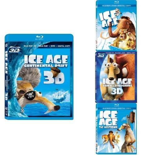 Ice Age Continental Drift 2d Ice Age Continental Drift 2d Blu Ray 3d Ws Pg 2 Br Incl. DVD Dc