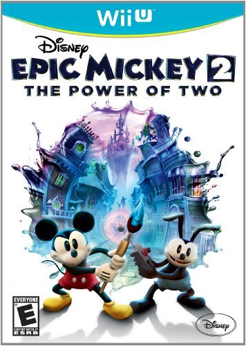 Wiiu Epic Mickey 2 The Power Of Two Disney Interactive Distri E