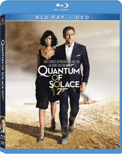 James Bond Quantum Of Solace Craig Kurylenko Wright Dench Blu Ray Ws Pg13 Incl. DVD