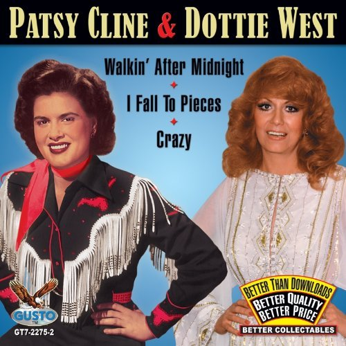 Patsy & Dottie West Cline Walkin After Midnight I Fall T 3 On 1