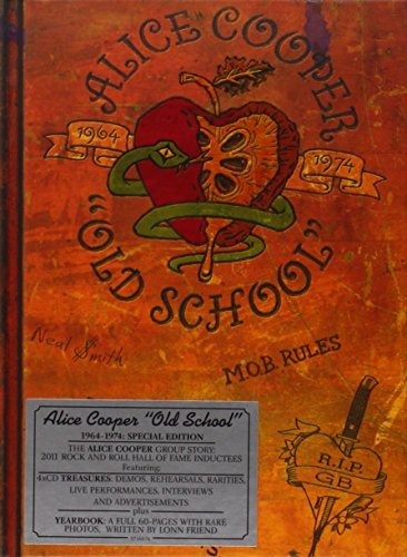 Alice Cooper Old School 1964 74 4 CD