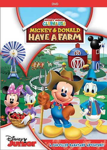 Mickey & Donald Have A Farm Mickey Mouse Clubhouse Ws Tvy Incl. Planting Kit