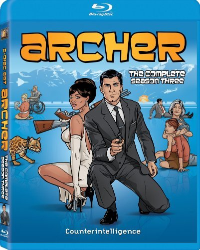 Archer Season 3 Blu Ray Nr