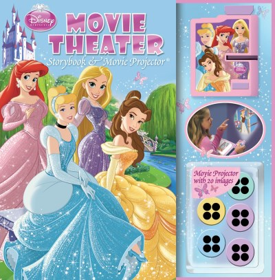 Disney Princess Disney Princess Movie Theater Storybook [with Movi