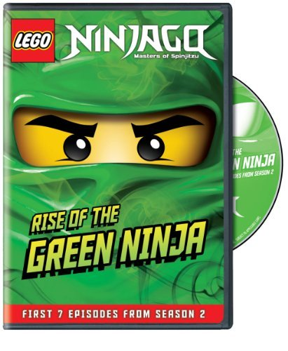 Lego Ninjago Rise Of The Green Ninja DVD Nr