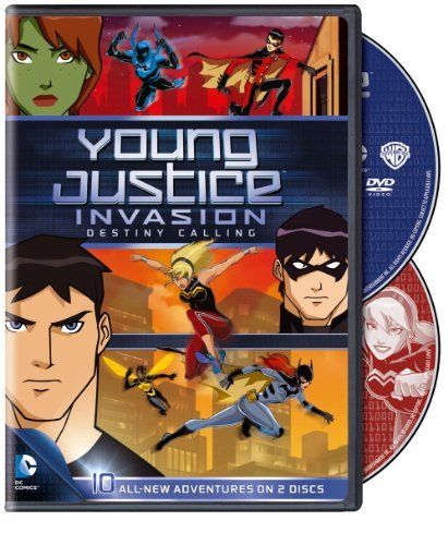 Young Justice Invasion Destiny Season 2 Pt. 1 Nr 2 DVD