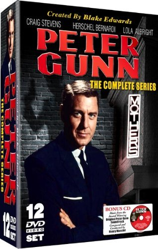 Peter Gunn Peter Gunn Complete Series Nr 12 DVD Incl. CD