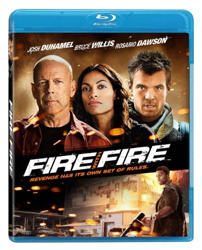 Fire With Fire Willis Duhamel Dawson Blu Ray Ws R
