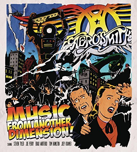 Aerosmith Music From Another Dimension Deluxe Ed. 2 CD Incl. DVD