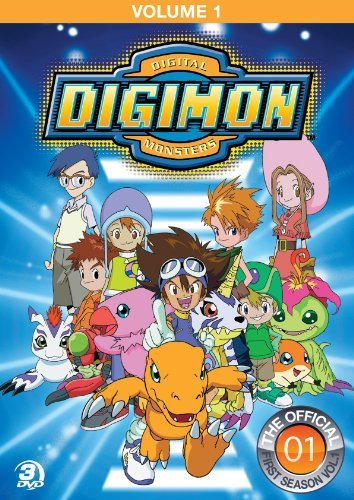 Digimon Adventure Vol. 1 Jpn Lng Eng Dub Ur 3 DVD