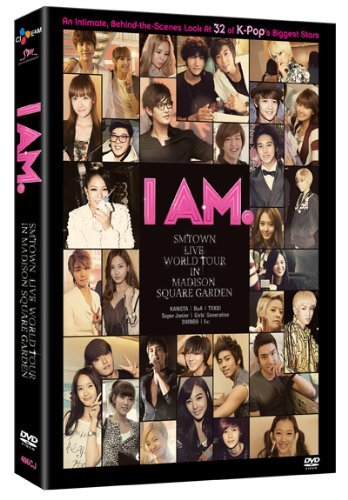 Girls Generation F(x) Super Ju I Am Sm Town Live World Tour 4 DVD
