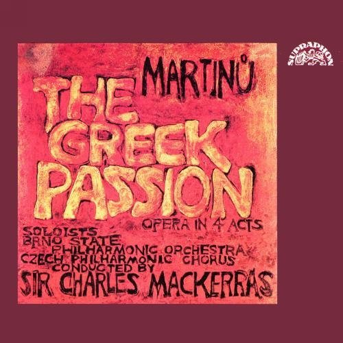 Brno Spo & Charles Mackerra Martinu Greek Passion 2 CD