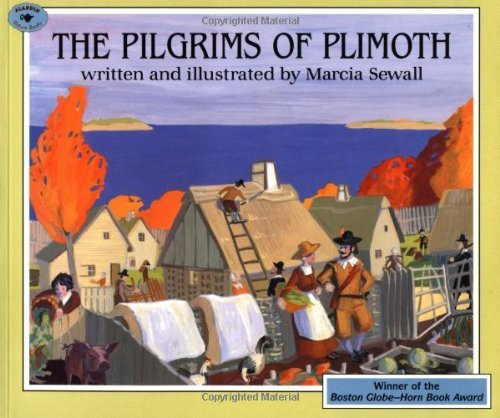 Marcia Sewall The Pilgrims Of Plimoth Reprint