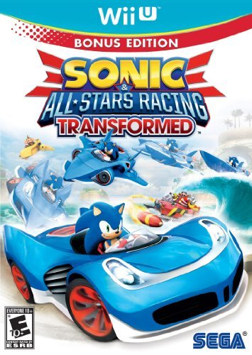 Wii U Sonic & All Star Racing Transf E10+