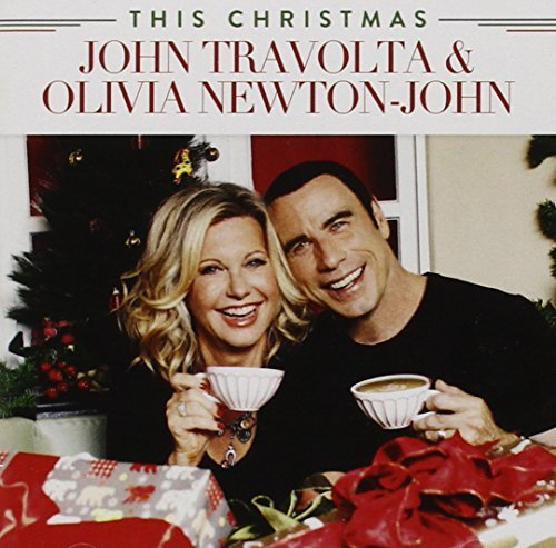 Olivia & John Travolta Newton John This Christmas