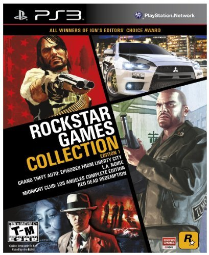 Ps3 Rockstar Games Collection