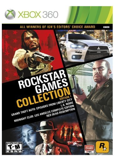 Xbox 360 Rockstar Games Collection Edi