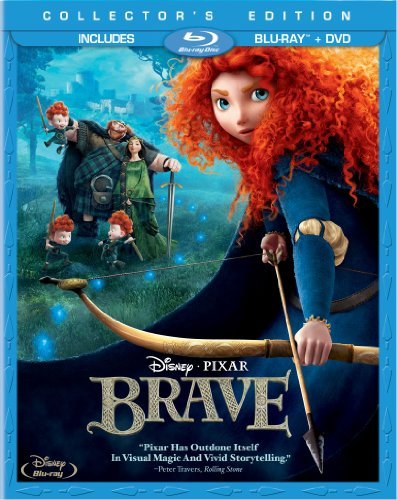 Brave Disney Blu Ray DVD Pg