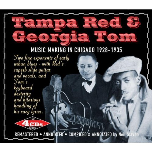 Tampa & Tom Georgia Red Music Making In Chicago 1928 3 4 CD