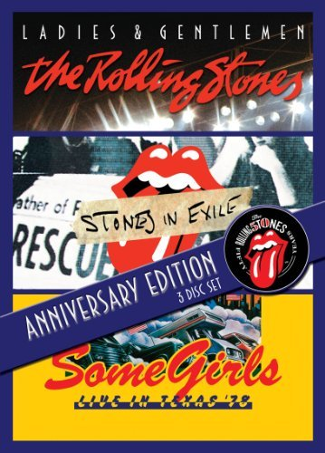 Rolling Stones Ladies & Gentlemen Stones In E 3 DVD