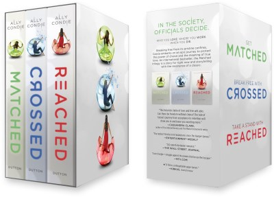 Ally Condie Matched Trilogy Box Set Matched Crossed Reached