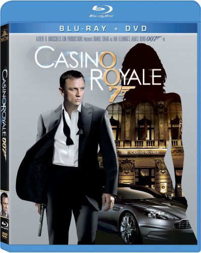 James Bond Casino Royale (2006) Craig Green Dench Blu Ray Ws Pg13 Incl. DVD
