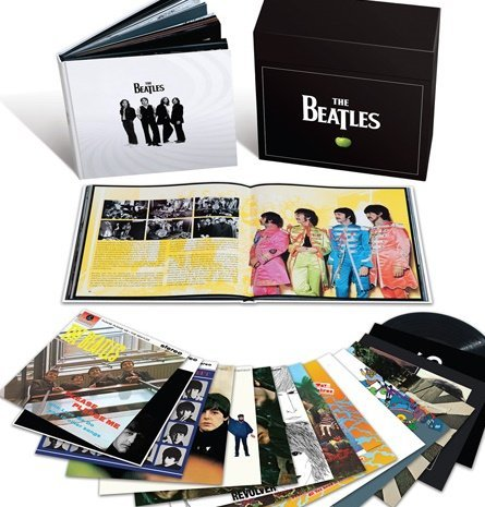 Beatles Stereo Vinyl Box Set 180gm Vinyl 16 Lp 1 Book Box Set