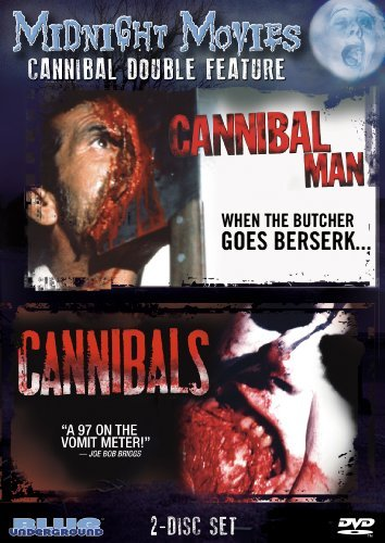 Midnight Movies Vol. 8 Cannibal Double Feature Ws Nr 2 DVD