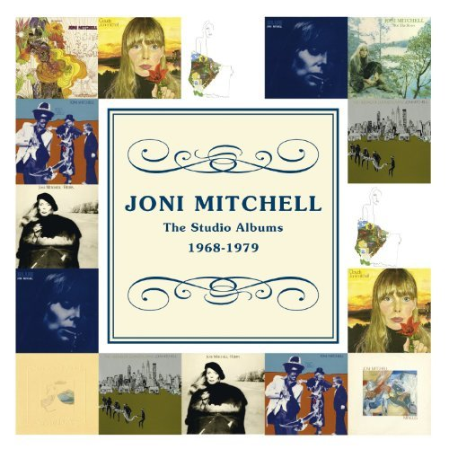 Joni Mitchell Studio Albums 1968 79 10 CD