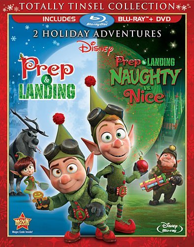 Prep & Landing Prep & Landing Naughty Vs. Nice Disney Double Feature Blu Ray DVD Nr